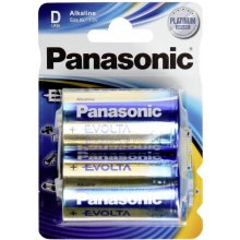 PANASONIC D, Alkaline, 2 pc(s)