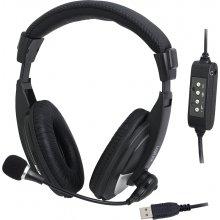 LogiLink HS0019 kõrvaklapid stereo USB