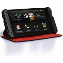 HTC Kaitseümbris One mini, klapiga, must ja...