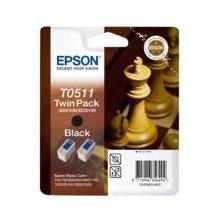 Tooner Epson Ink T0511 black Doublepack |...