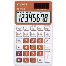 Калькулятор Casio SL-300NC-RG оранжевый