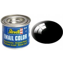 Revell Email Color 07 чёрный Gloss 14ml