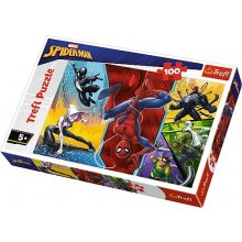 TREFL Puzzle 100 pcs - Spiderman, Upside...