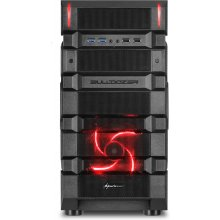 Корпус Sharkoon BD28 ATX Midi Tower красный...