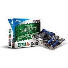 Материнская плата MSI 970A-G43, DDR3-SDRAM...