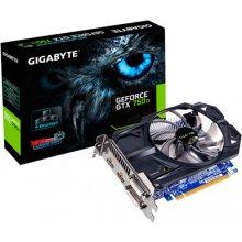 Videokaart GIGABYTE GeForce GTX 750 TI 2GB...