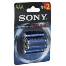 Sony Batteries Alkaline LR03 Stamina Plus...