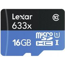 Флешка Lexar microSDHC 633x UHS-I 16GB inkl...