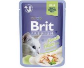 Brit Trout Fillets in Jelly for Adult Cats...