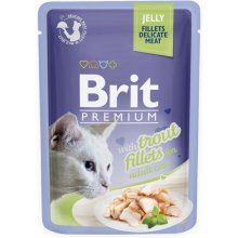 Brit Premium Trout Fillets in Jelly for...