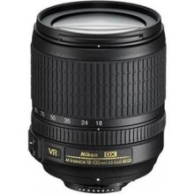 NIKON Lens 18-105mm VR f/3.5-5.6G ED AF-S DX