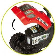 SMOBY Traktor Czerwony z przyczepą