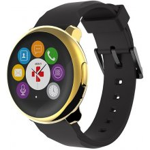 MyKronoz Smartwatch ZeRound Yellow Gold...