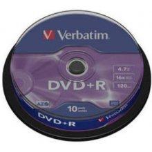 Диски Verbatim DVD+R 10gab/kompl