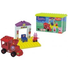 BIG Blocks Peppa pig Railway station