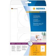 Herma CD-наклейки белый opaque 116 25 Sheets...