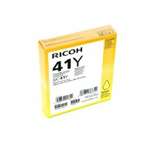 Тонер RICOH GC41Y GEL жёлтый 2.2K PGS