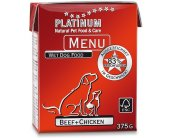 Platinum Menu Beef + Chicken 375g