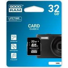 Mälukaart GOODRAM SDHC 32GB CLASS 4