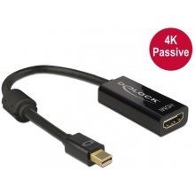 Delock адаптер mini Displayport 1.2 male >...