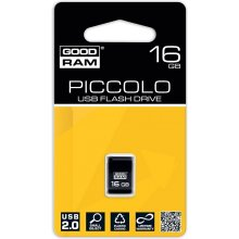 Mälukaart GOODRAM PICOLLO 16GB USB2.0 Black