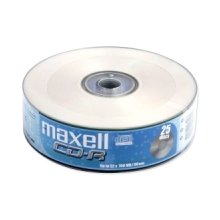 Диски Maxell диск cd-r 700MB 52x spindle 25