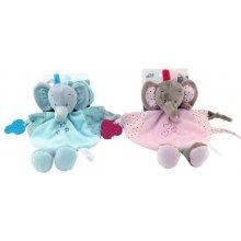 Axiom Cuddly Milus Elephant pink 25 cm