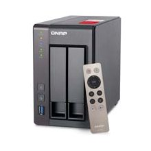 QNAP TS-251+-8G 2x0HDD 8GB 2,0GHz 2LAN...