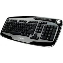 Klaviatuur GIGABYTE USB RUS BLACK/GK-K6800V2
