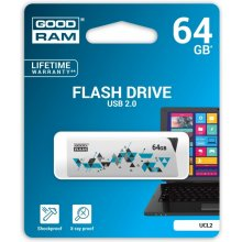 Флешка GOODRAM CLICK 64GB USB2.0 белый