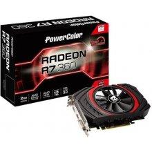 Videokaart PowerColor R7 360 2048MB, PCI-E...