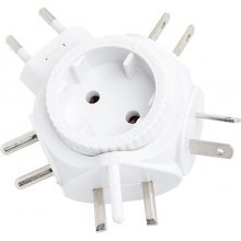 LogiLink adapter Reiseadapter Eurostecker...