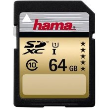 Флешка Hama HighSpeed Gold SDXC Card 64GB
