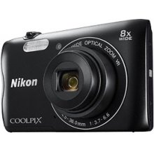 NIKON Coolpix A300, black