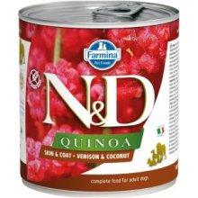 Farmina N&D QUINOA Skin&Coat Venison &...