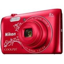 Фотоаппарат NIKON COOLPIX A300 красный...