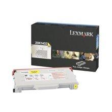 Tooner Lexmark Toner C510n kollane 0020K1402