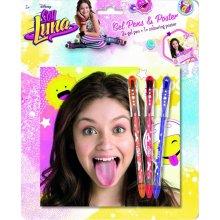 Jiri Models Soy Luna 3 gel pens + poster