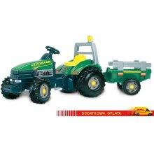 SMOBY Traktor TGM z przyczepą zielony