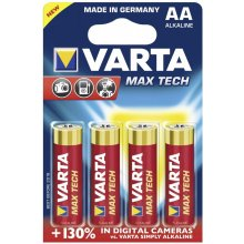 VARTA 1x4 Max Tech Mignon AA LR 6