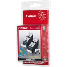Тонер Canon PGI-520BK Twin Pack, чёрный...