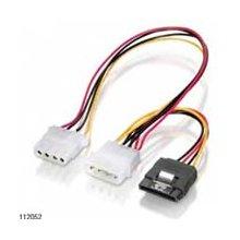 Equip Stromkabel Y-kaabel 15pol SATA > 2x...