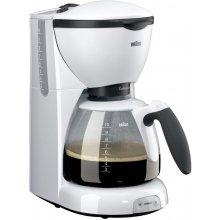 Кофеварка BRAUN KF520 CafeHouse белый
