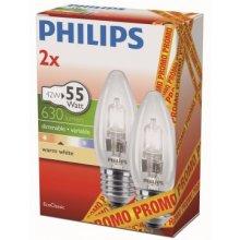 Philips EcoClassic 42W E27 B35 2CT/24