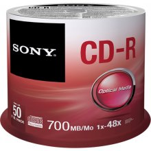 Диски Sony CD-R 700 MB (80 min) | 48x [cake...