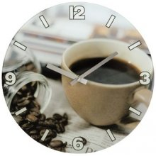 "Hama WALL CLOCK ""COFFEE"
