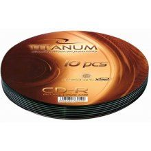 Диски Titanum CD-R 700MB x56 - Soft Pack 10