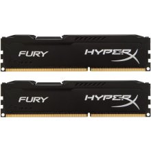 Mälu HyperX DDR3 Fury 8GB/ 1600 (2*4GB) CL10...