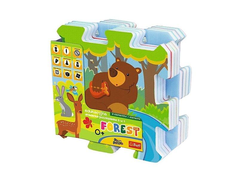 288e132314e TREFL Educational Fun Forest Fun 5 in 1 60698 - OX.ee