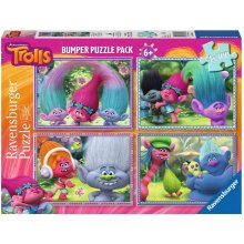 RAVENSBURGER 4x100 ELEMENTS Trolls